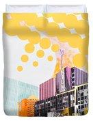 Times Square Milenium Hotel Duvet Cover