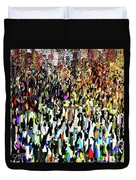 Times Square New Year's Eve Duvet Cover