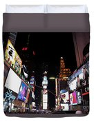 Times Square New York City New Years Eve Duvet Cover