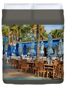 Times Square Of Ft Myers Duvet Cover