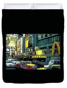 Times Square Visitors Center Duvet Cover