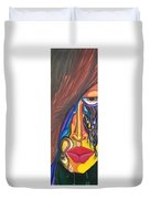 Hidden Scream - Scar Series 4 Duvet Cover
