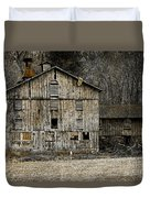 Tin Cup Chalice Rustic Barn Duvet Cover