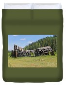 Tincup History 3 Duvet Cover