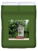 Tindaro Screpolato Sculpture In Boboli Garden 0197 Duvet Cover