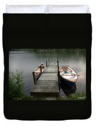 Tinmouth Pond Vermont Duvet Cover