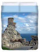 Tintagel Castle 1 Duvet Cover
