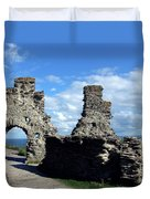 Tintagel Castle 2 Duvet Cover