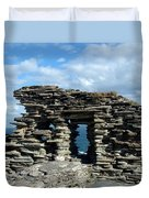 Tintagel Castle 3 Duvet Cover