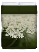 Tiny Cluster Of Queen Anne's Lace Duvet Cover