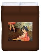Tiny Dancer Duvet Cover