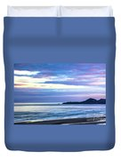 Guiding Light In The Distance Duvet Cover