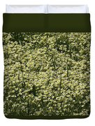 Tiny Meadow Flowers Duvet Cover