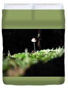 Tiny Mushroom 1 Duvet Cover