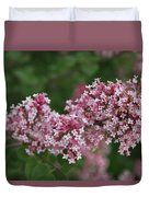 Tiny Pink Flowers Duvet Cover