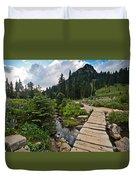 Tipsoo Meadows #2 Duvet Cover
