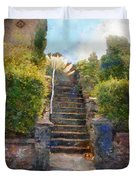 Tipsy Stairs Duvet Cover