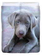 Tired Puppy Duvet Cover