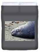 Tired Seal Duvet Cover