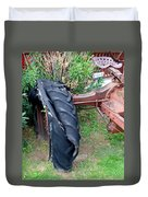 Tired Tractor Tire Duvet Cover