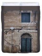 Tired Walls Duvet Cover
