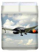 Titan Airways Boeing 757 Duvet Cover