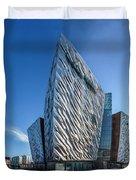 Titanic Building Bows Duvet Cover