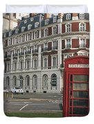 Titanic Hotel And Red Phone Box Duvet Cover