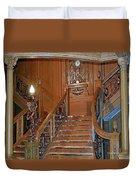 Titanics Grand Staircase Duvet Cover