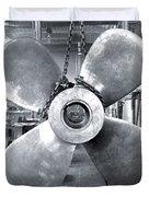 Titanic's Propellers Duvet Cover