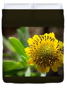 Tithonia Diversifolia Duvet Cover by Michael Tesar