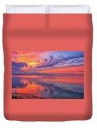 Titusville Sunset Duvet Cover
