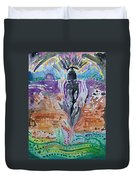 Tlazolteotl, Creative, Absolution And Healing Duvet Cover