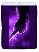 Tmnt 2   -  Donatello Smoky Purple. Duvet Cover