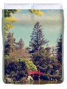 To A Faraway Land Duvet Cover