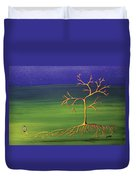 To Become A Seed Again Duvet Cover