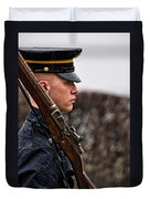To Guard With Honor Duvet Cover