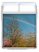 To See The Light Duvet Cover
