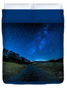 To The Milky Way Duvet Cover