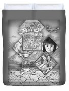 To The Missionfields Duvet Cover