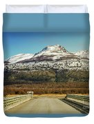 To The Mountain Duvet Cover