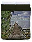 A Walk To The Sea Duvet Cover