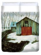 To The Sugar House Duvet Cover