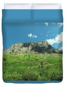 To View A Mountain Duvet Cover