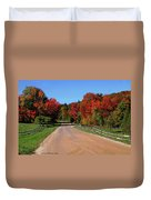 To Where Does The Road Lead Duvet Cover