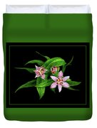 Toad Lily Duvet Cover