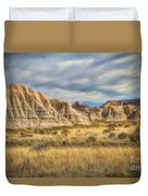 Toadstool Geologic Park Duvet Cover