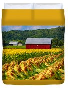 Tobacco Barn 2 Duvet Cover