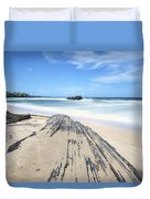 Toco Beach Duvet Cover