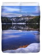 Todd Lake Duvet Cover